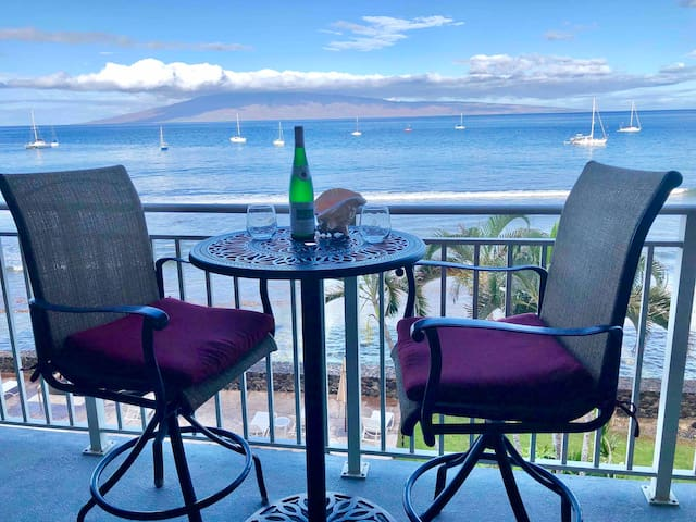 Ocean front in Lahaina **Inter-Island Special rate