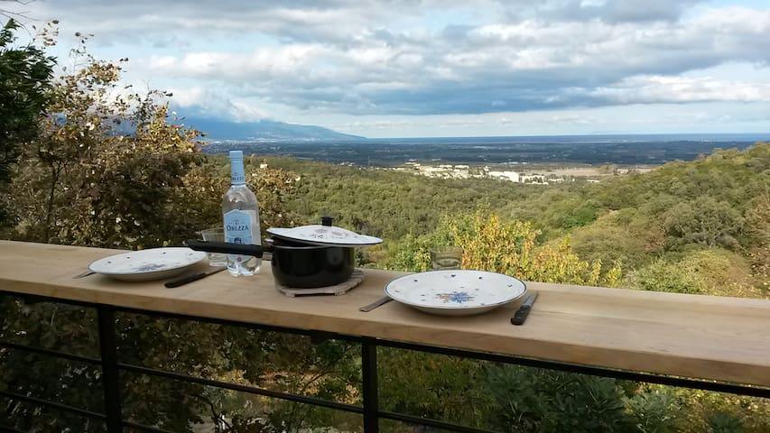 Villa avec vue panoramique - Venzolasca