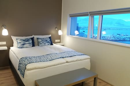 Salthús Guesthouse - Double Room with Sea View