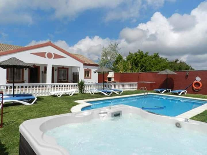 House with shared pool only ventolera I