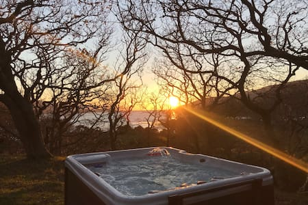 Snowdonia Mawddach Cabin + hot tub FIVE STAR*****