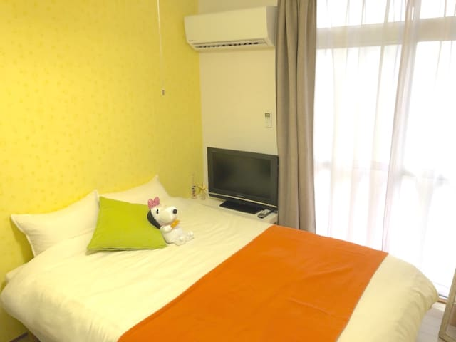 10 minutes by bus from airport! Close to Tenjin !