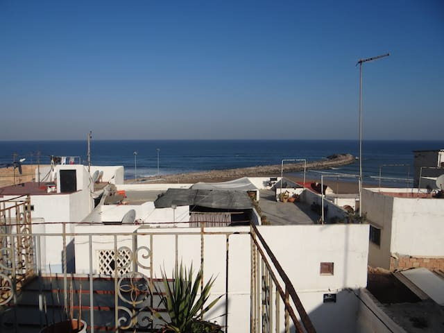 Picturesque house in Rabat Oudayas Ocean side
