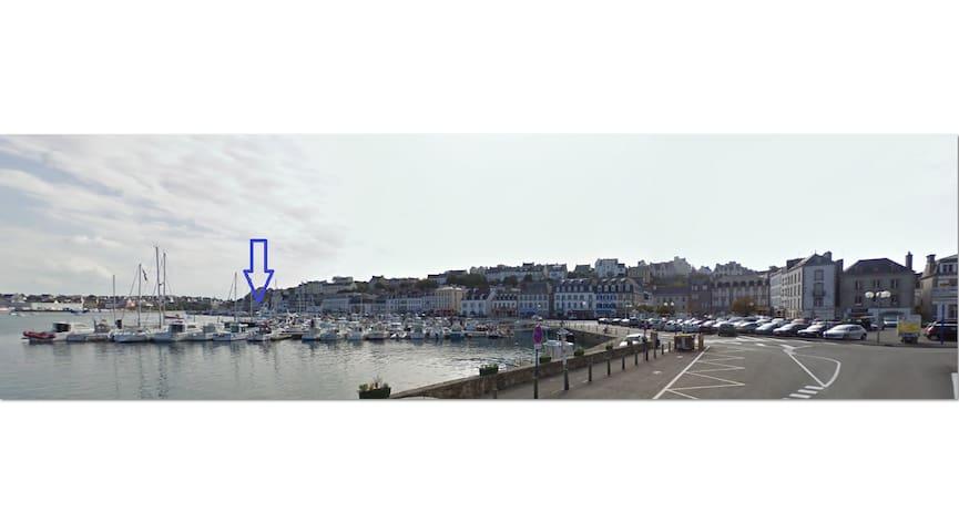 Chambre sur le port d'Audierne - Audierne