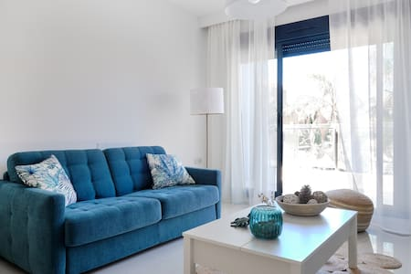 Apartment with solarium only 300 M from the sea