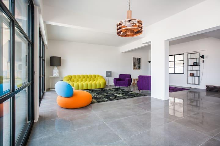 Central Athens Super View Loft - Athina - Apartamento