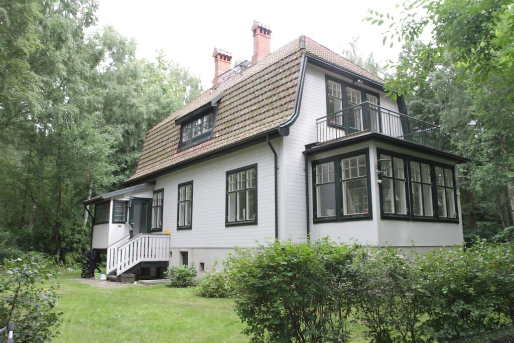 Exterior (back)