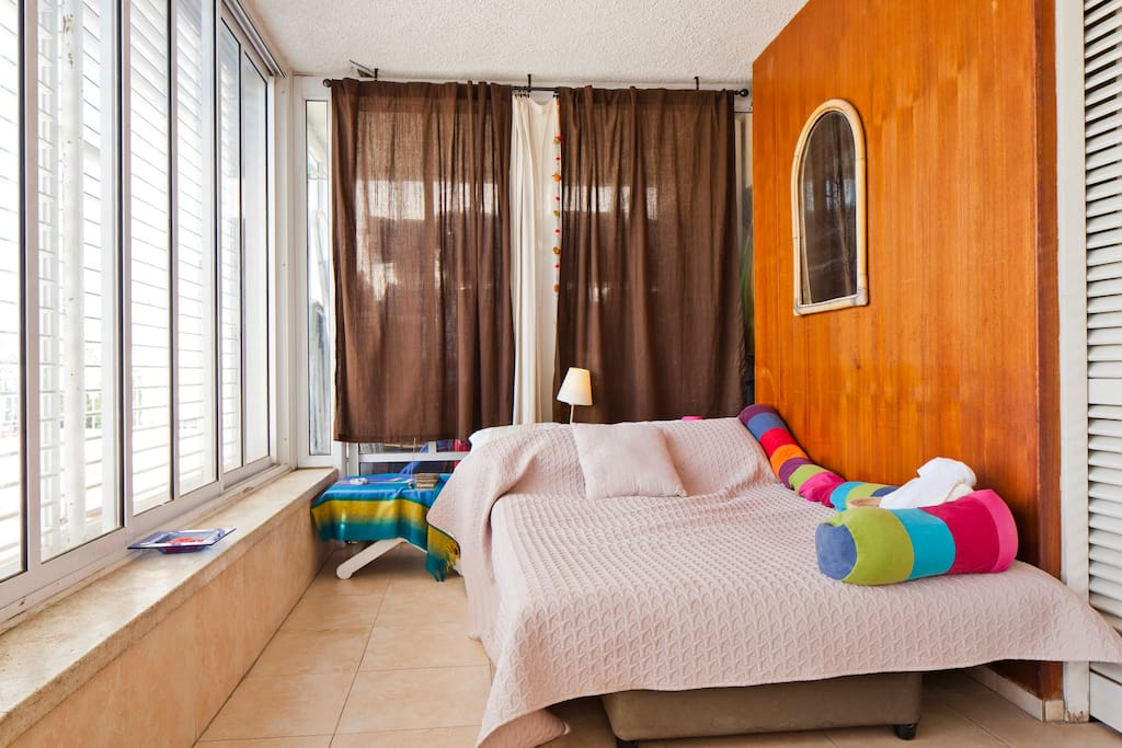 Balcony Facing bedroom
