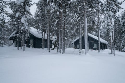Very cozy self-catering cottage in Äkäslompolo, Yl