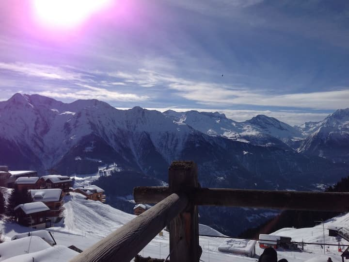 Chalet Riederalp (Aletscharena) + magnificent view