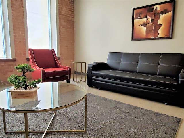 Big Comfy Condo in Downtown Dallas (RS914)