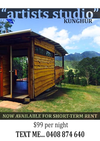 Comfy cabin in the bush - Kunghur - Rumah