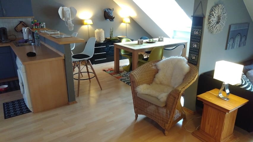 Exclusive 1 bed roof apartment in Ramstein