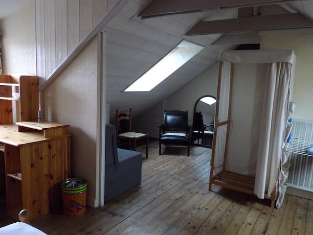 Chambre au soleil en C.V  dans maison avec jardin - Brest - Bed & Breakfast