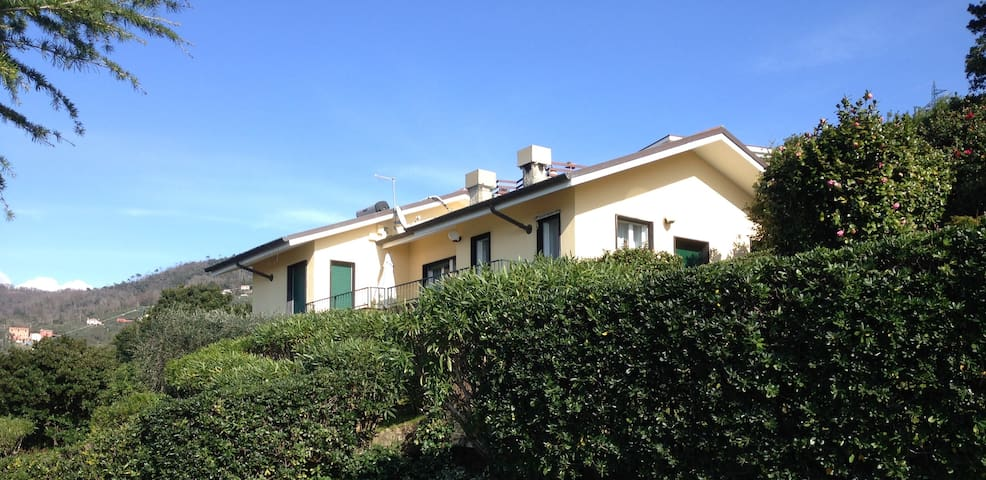 Nice villa with superb seaview near Sestri Levante - Lavagna - Villa