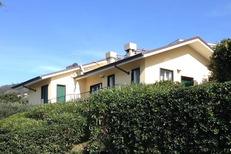 Nice villa with superb seaview near Sestri Levante - Lavagna