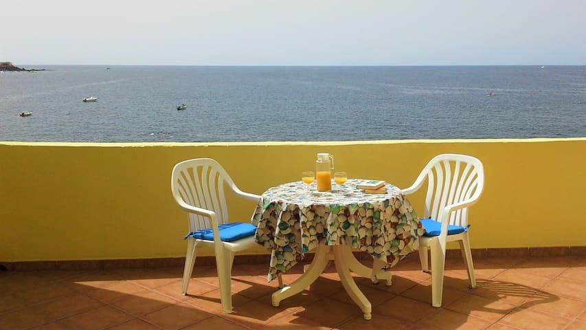 Casa del Sol - Ruhiges Studio am Atlantik - Valle Gran Rey - Apto. en complejo residencial