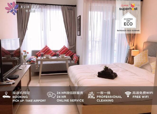 ECO19-Huai Khwang MRT/RCA/Train night market/Big C