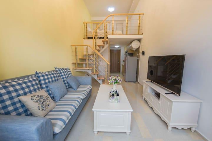住宅小区温馨LOFT公寓,酒店式管理,入住舒适安心 - Shenzhen - Apartment