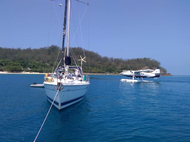 FIJI - 'We Rush Slowly' On A Trip Of A Life Time?? - Denarau Island - Bateau
