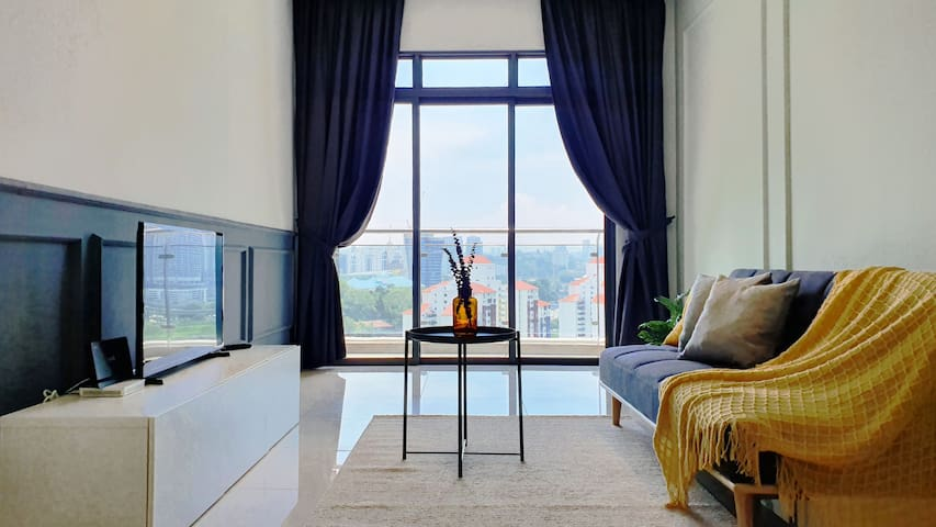 *New* Cosy 3BR|7pax @ 9 Seputeh ,5min midvalley #1