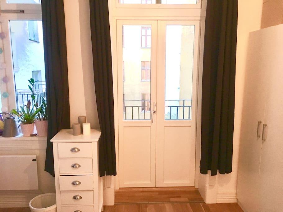 Cute room with balcony