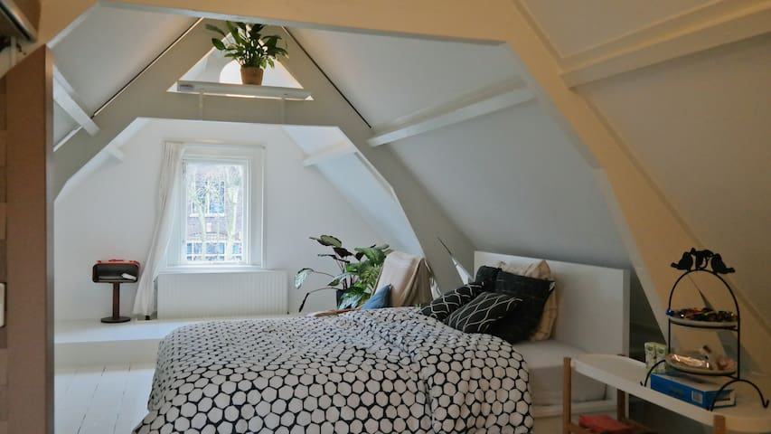 19th century European attic - Dordrecht - Apartamento