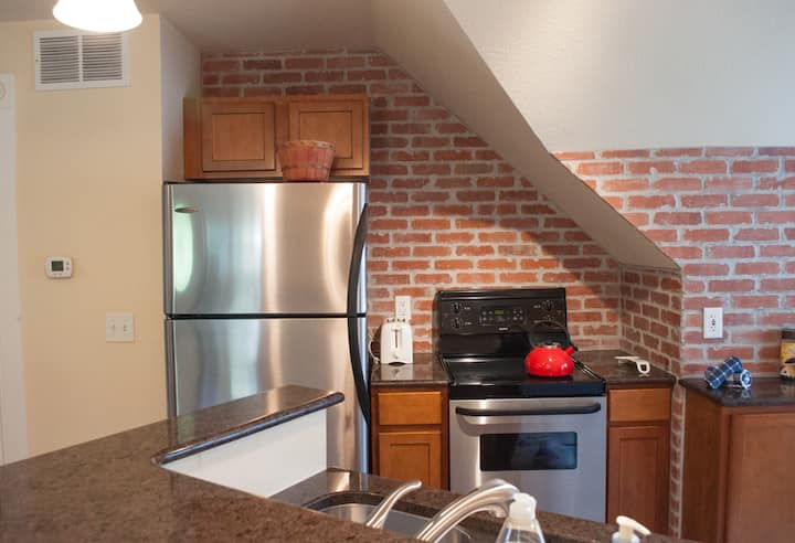 One-Bedroom Penthouse Condo in Downtown Golden