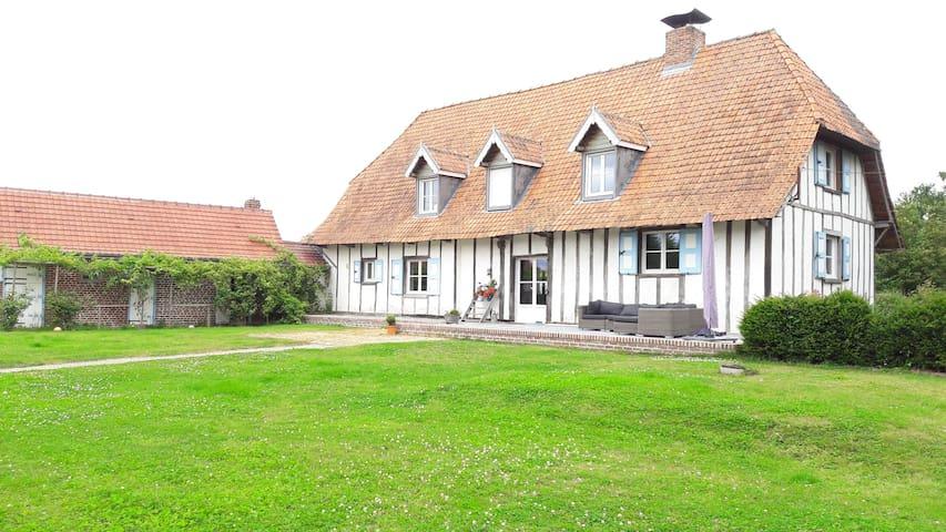 Une chambre en campagne flamande - Hondeghem - ที่พักพร้อมอาหารเช้า