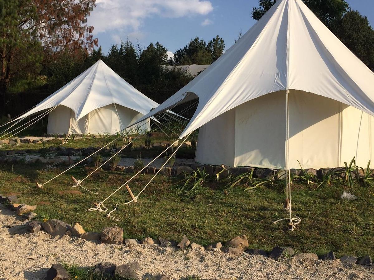 View Photos & Glamping en Acatitlan Valle de Bravo (G) - Tents for Rent in ...