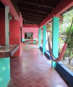 Casa Cambute, Rustic Beach house. - Nosara  - Дом