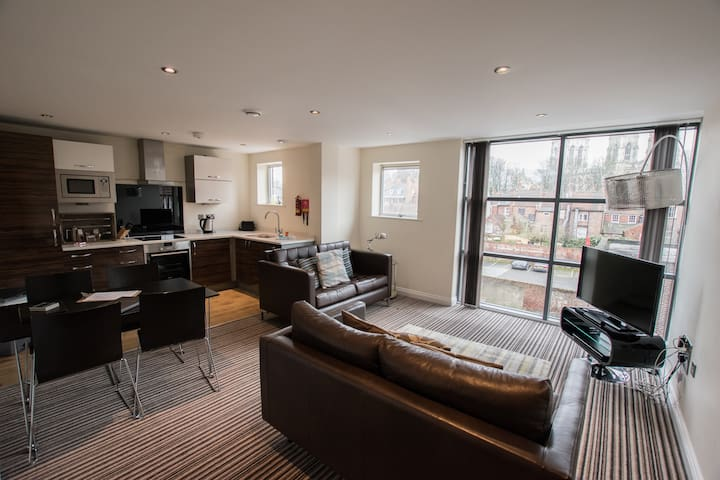 York Luxury 2 Bedroom Apartment