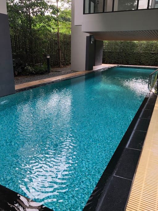 Swimming pool at fountain palmspring nimman