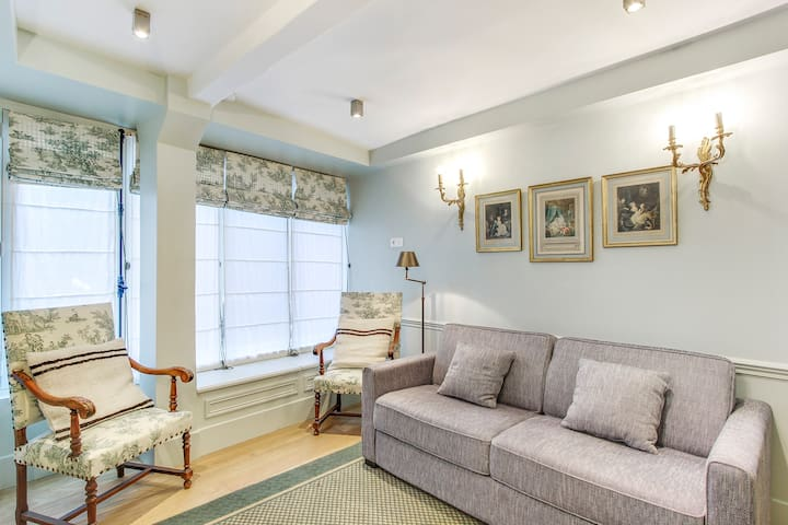 French Chic One-Bedroom Apartment in Saint Germain