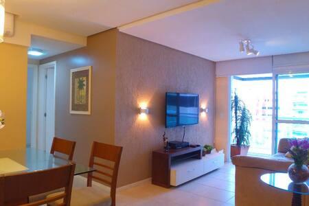 Lindo apartamento mobiliado com 02 quartos no JTR.
