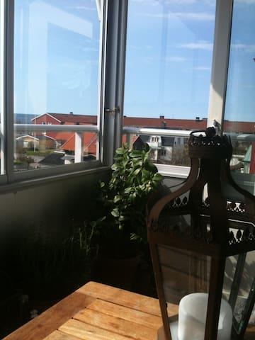 Central lägenhet nära bad och centrum - Varberg - Pis