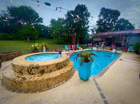 Casita de Campo ,piscina Privada (Perfecto para 2)