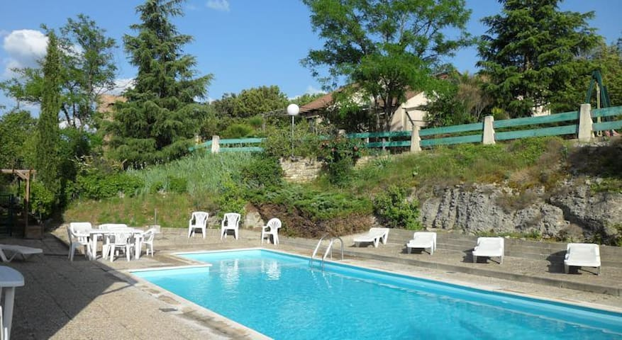 Les Terrasses de l'Ardèche - Salavas - Serviced apartment