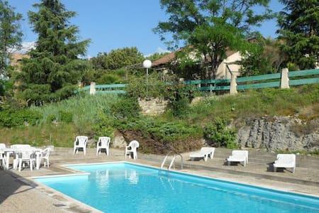 Les Terrasses de l'Ardèche - Salavas - サービスアパートメント