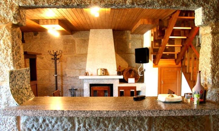 Casa das Coias- alquiler 6 personas en Ourense