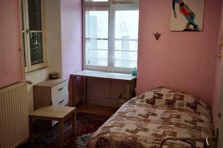 Chambre calme en plain coeur de Grenoble