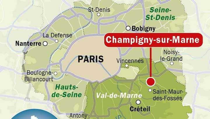 Logement entier (Chambre d'hôte) 10 mn de Paris