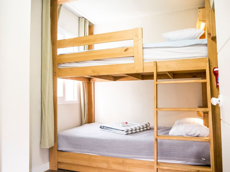 bunk bed for two people