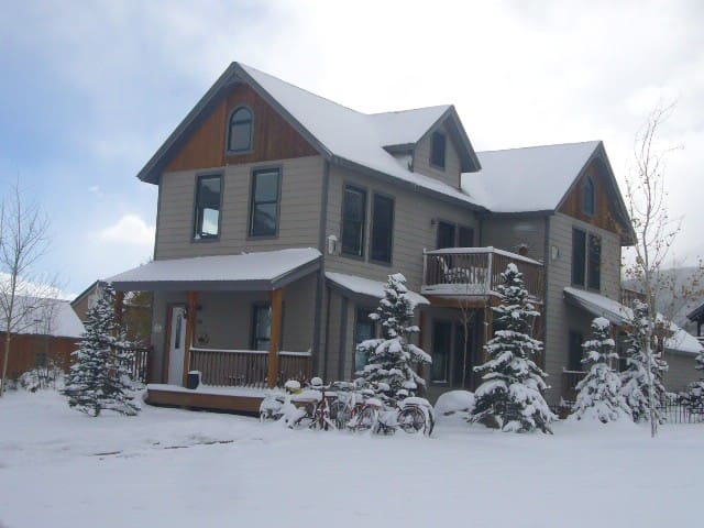 Spend Christmas in downtown Crested Butte !!! - Crested Butte - Casa