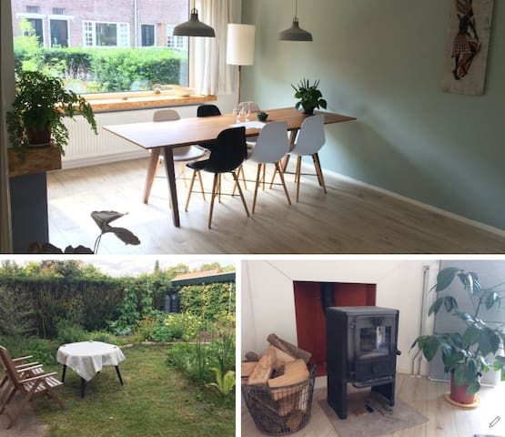 1930s apartment:vegetable garden and woodstove🔥