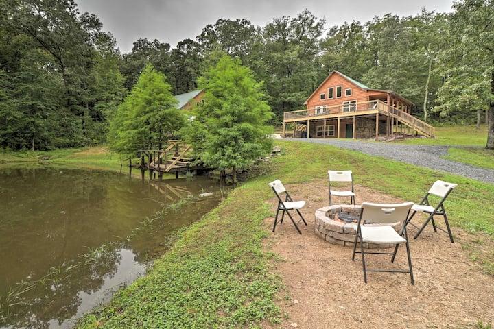 NEW! Hideaway Cabin - Walk to Greers Ferry Lake!