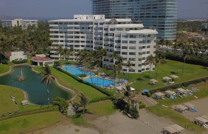 Precioso Depa en Acapulco Diamante a Pie de Playa