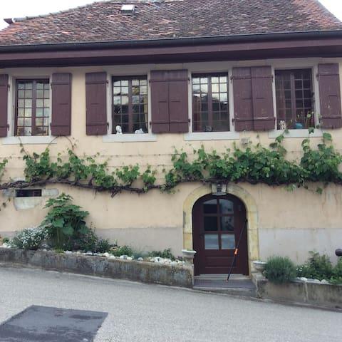 Joli studio avec entrée indépendante - Montagny-près-Yverdon - Wohnung