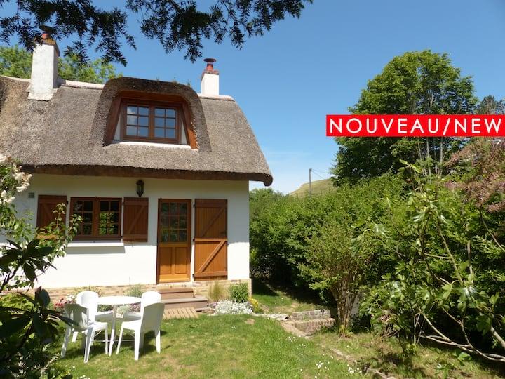 La Flore de Lys, Lovely cottage, 330 from the sea!