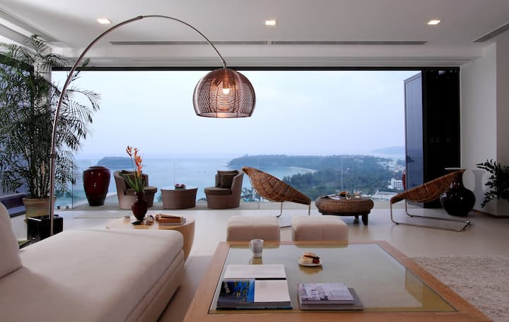 The Heights Kata luxury penthouse 3bedrooms ocean view
